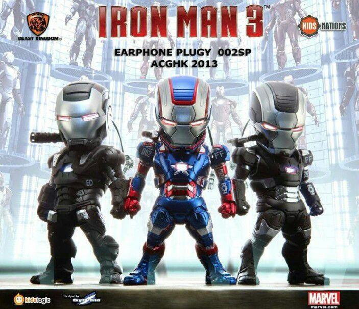 Egg Attack kids animation star iron man version 33 Q luminous war machine Can light set