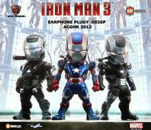 Egg Attack kids animation star iron man version 33 Q luminous war machine set
