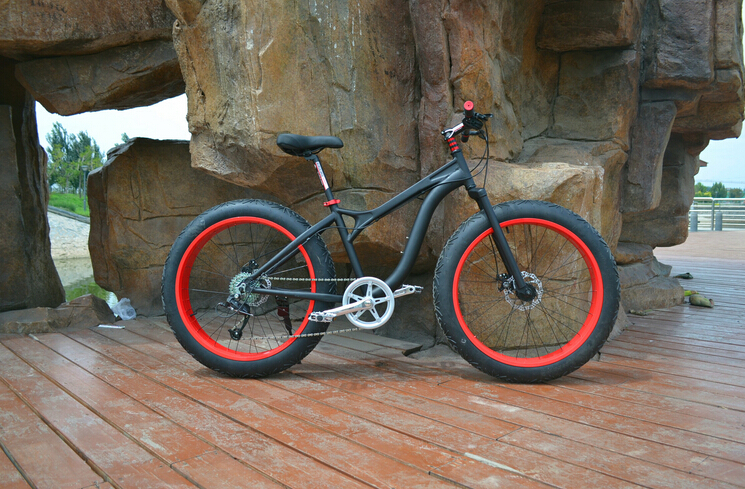 Cruiser Bikes With Big Tires Cool Big Tire Snow Bike quot