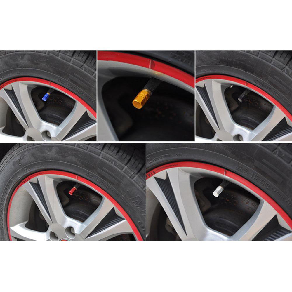 4Pcs Lot Universal Aluminum Car Tyre Air Valve Caps Bicycle Tire Valve Cap Car Wheel Styling