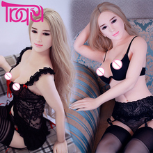Buy Silicone Sex Dolls 160cm Real Small Breasts Vaginal Adult Toys Japanese Male Masturbation Realistic Girl Body Sexual Dolls
