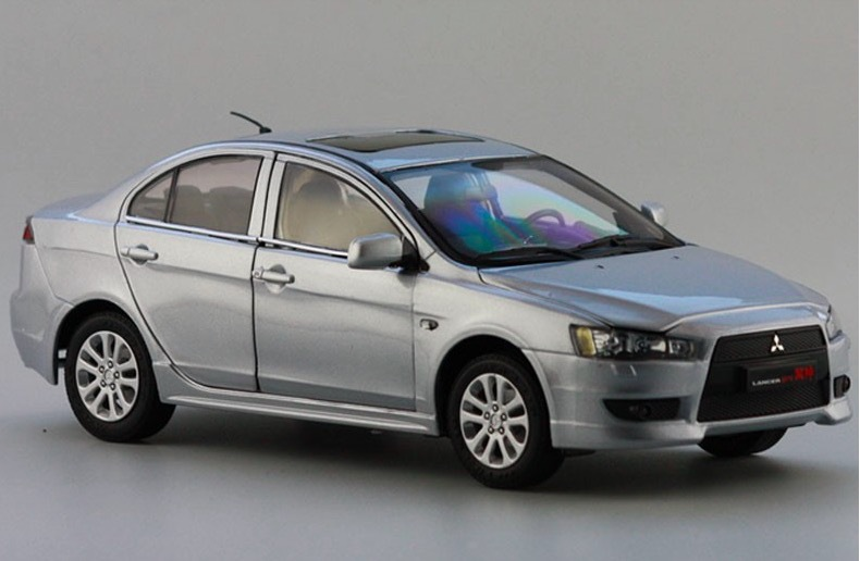 1:18 Die cast Model Car Toy For LANCER EX Car Alloy Scale Model Toys Gift Display Collection(China (Mainland))