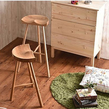New 100% wooden bar stool,Commercial Furniture,Pastoral style bar chair,wood furniture,living room fruniture(China (Mainland))