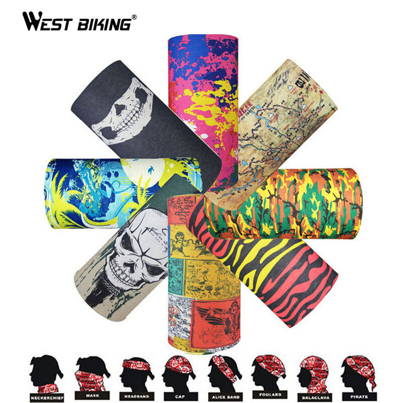 Outdoor Sports Skull Wicking Seamless Cycling Bike Veil Multi Bicycle Riding Head Scarf Face Masks Camping Bandana Hiking Scarve<br><br>Aliexpress