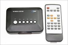 5pcs/lot Multimedia TV box HDD Media Player Video players Support HD drive USB SD MMC card free shipping(China (Mainland))