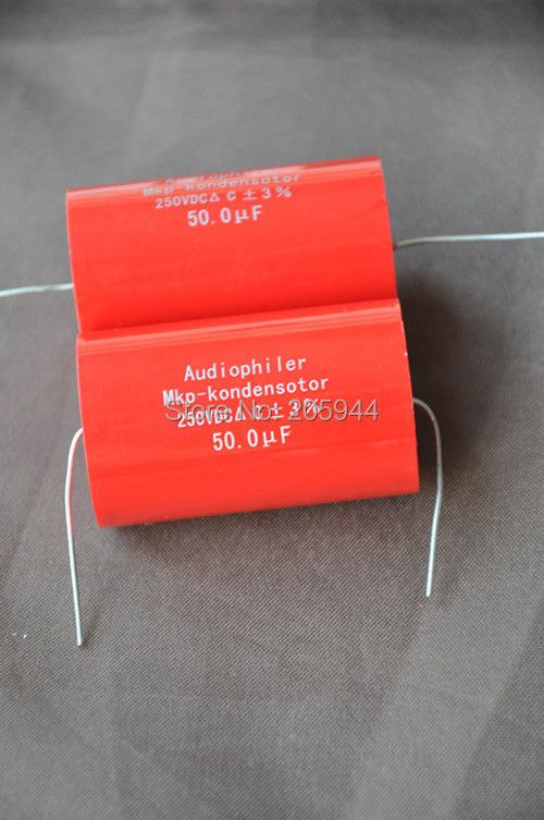 Гаджет  2pcs Audiophiler MKP-kondensotor MKP 50uf 250v Tubular Audio Capacitor None Электронные компоненты и материалы