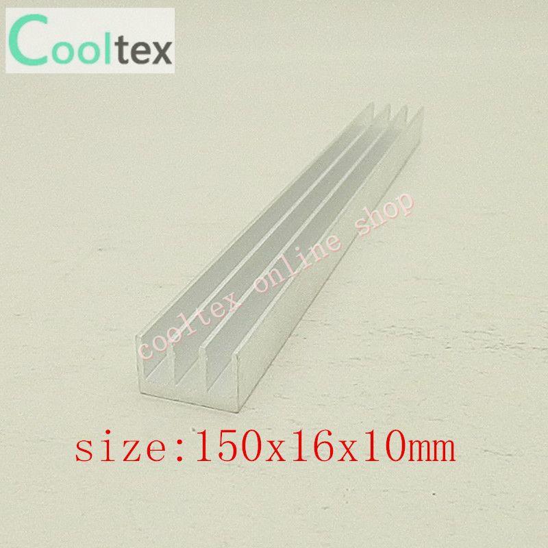 50pcs 150x16x10mm Aluminum HeatSink for Chip CPU GPU VGA RAM LED IC heat sink radiato COOLER cooling(China (Mainland))