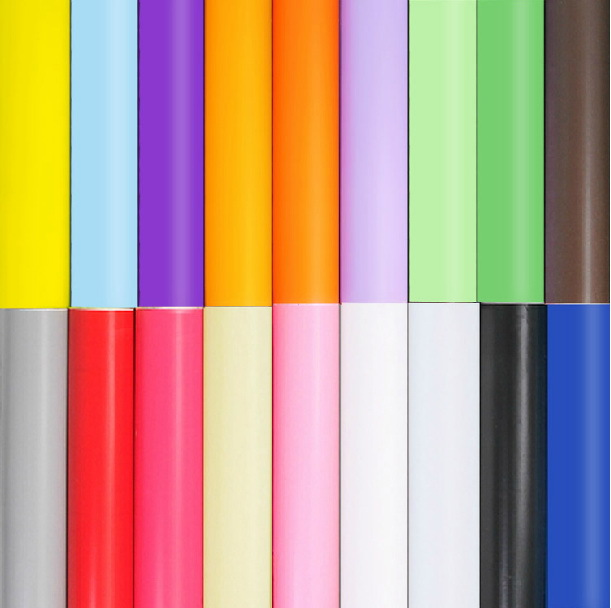 PVC solid color wallpaper waterproof bluish green furniture sticky notes,Self adhesive wallpaper papel de parede 0.45*5 m/roll(China (Mainland))