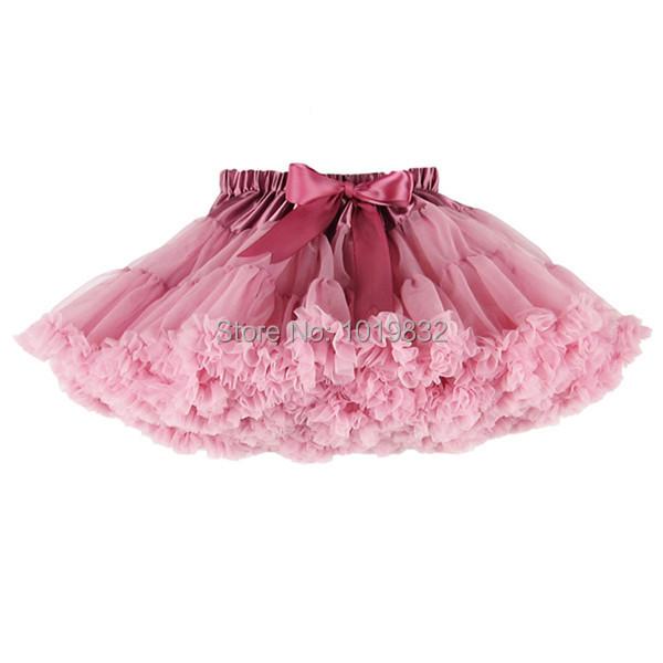 Vintage Dusty Rose Tutu Skirt,Children Girl Dust Pink Pettiskirt,Flower Girl Tutu Skirt Children Clothing(China (Mainland))