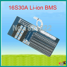16S 30A li-ion 67.2V BMS PCM battery protection board bms pcm for electric bike battery cell pack(China (Mainland))