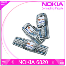 Original Nokia 6820 Cell Phone Unlocked GSM 900/1800/1900 QWERTY Keyboard + Gift(China (Mainland))