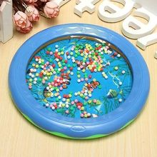 Ocean Wave Bead Drum Gentle Sea Sound Musical Educational Toy for Baby Kid ZE(China (Mainland))