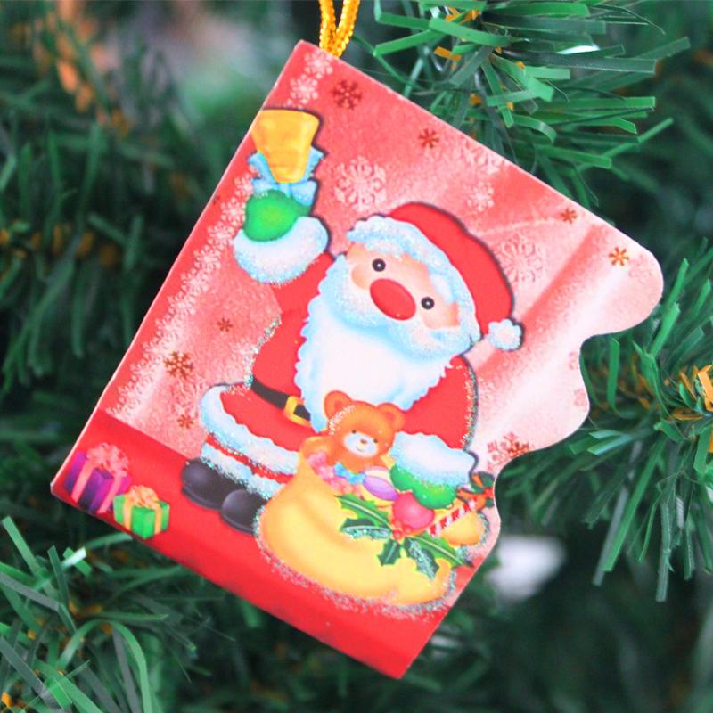 Quality christmas wish cards christmas wishing paper christmas tree decoration Christmas card(China (Mainland))