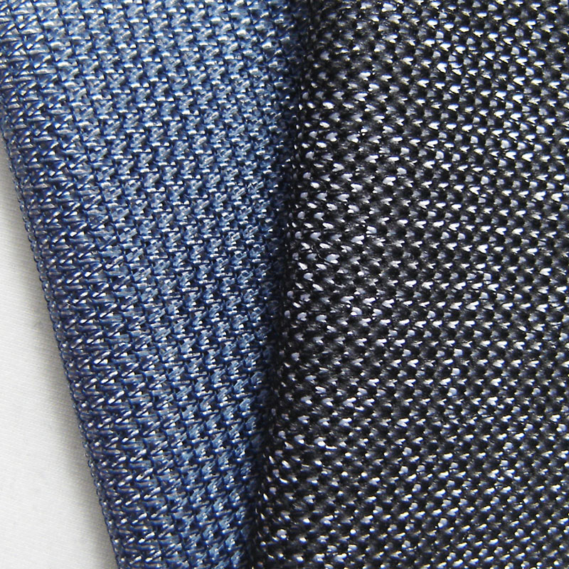 New French Wave Striped Polyester Mesh Fabric Fashion Casual Sport Apparel Knitted Coat Fabric Hand Sewing Cloth HST0617(China (Mainland))