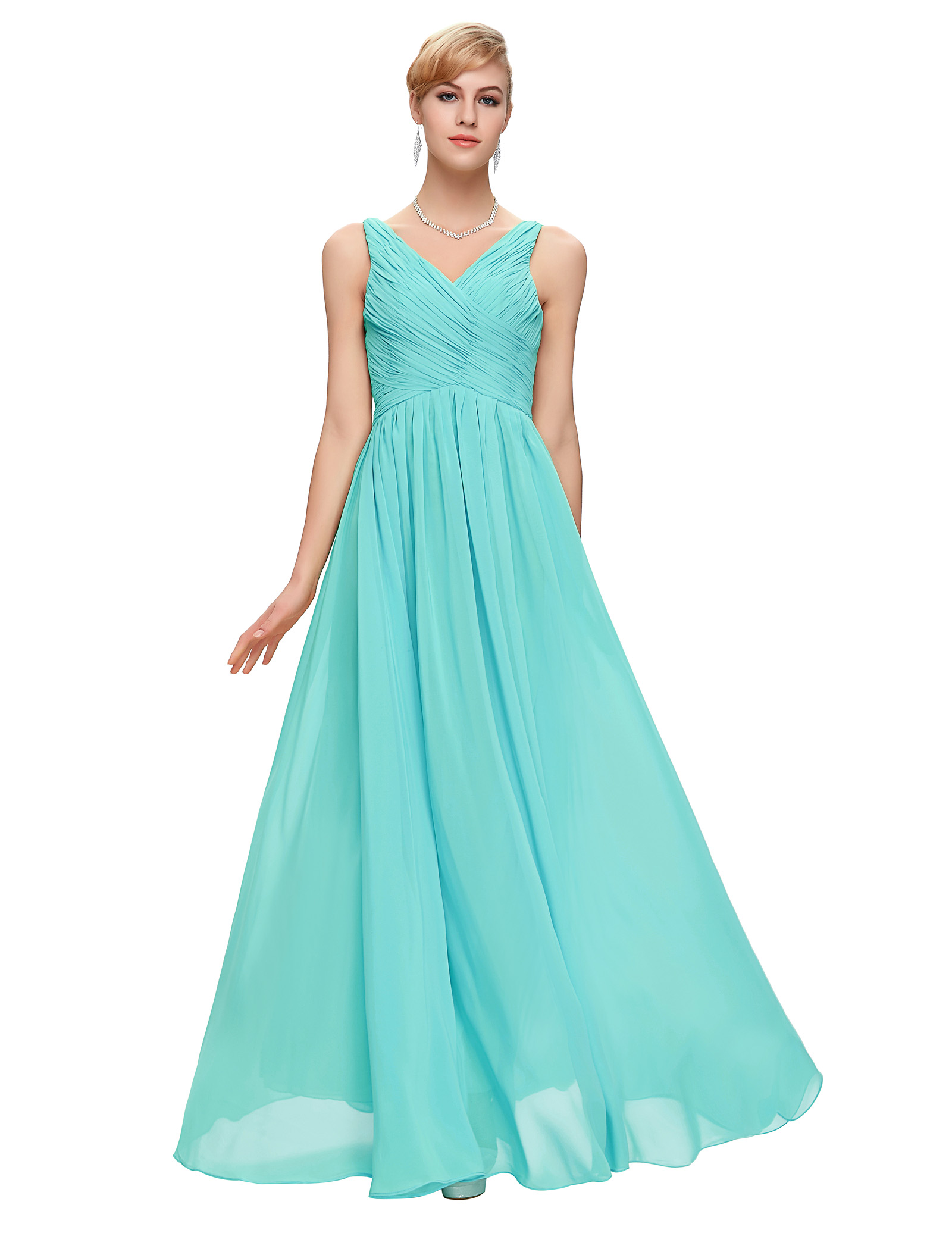 Buy Grace Karin Aqua Blue Bridesmaid
