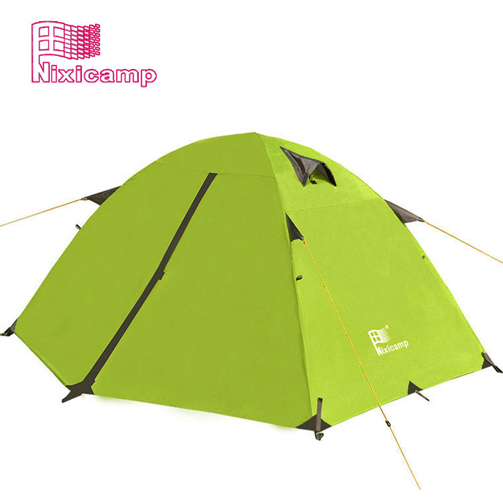 Outdoor tent 2-3 people double layer ultralight waterproof camping tent