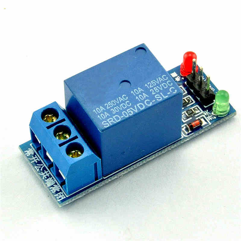 1 way road 5V relay module microcontroller extension development board high level trigger for Arduino(China (Mainland))