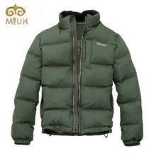 Solid Brand Grey Duck Men Down Stand Warm Short Length Winter Men Jackets Khaki Casual Fashion Man's Down 2014 New Arrival
