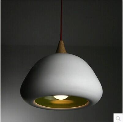 Apple single-head round white Pendant light for bedroom creative personality Art Bar Dining Restaurant(China (Mainland))