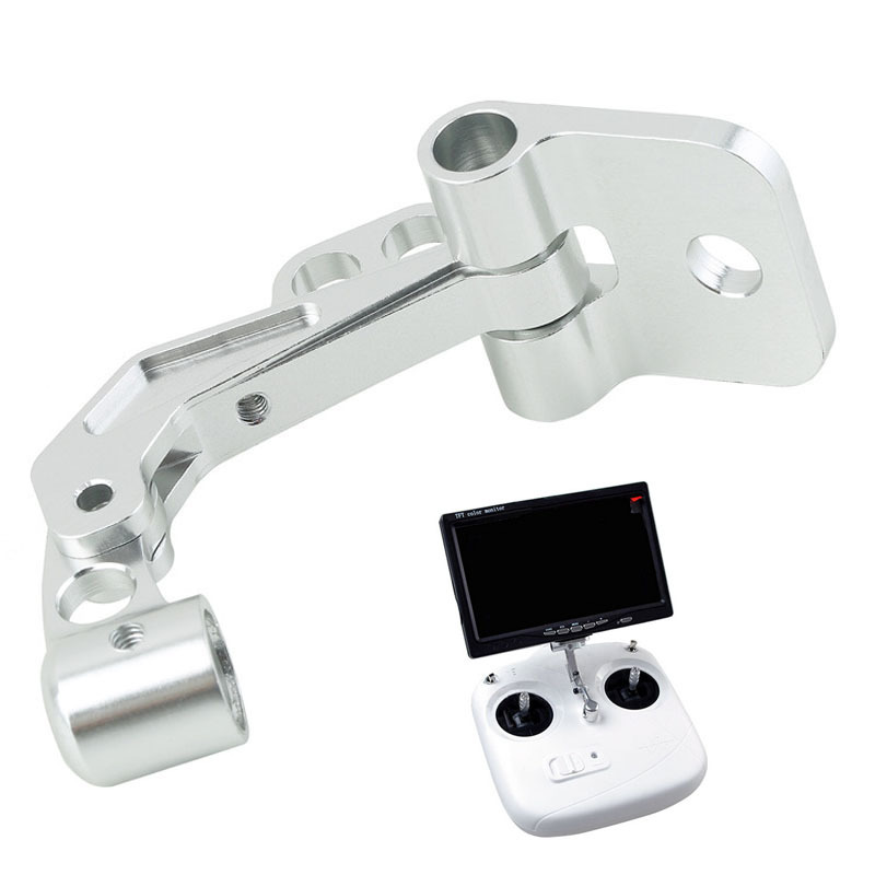 Resuli FPV LCD Monitor CNC Mount Bracket for DJI Phantom Jr Futaba Transmitter(China (Mainland))