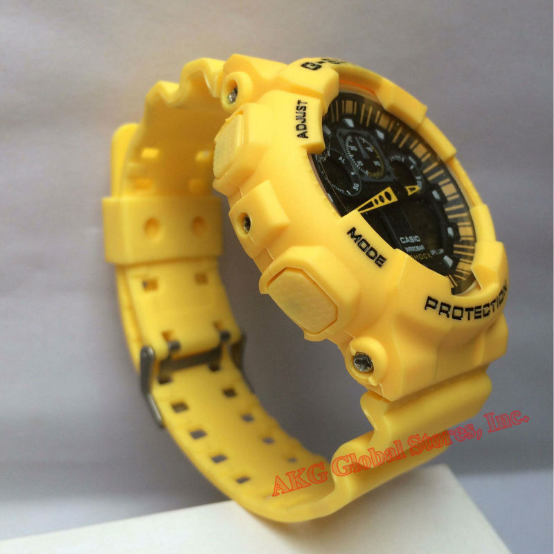 Military Grade Anti Shock Multifunctional Film for Casio Watch G Shock Chronograph Sports Camouflage Tactical Military