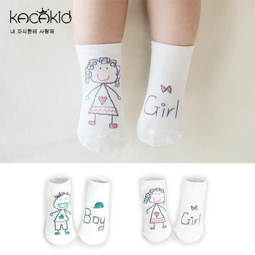 New spring baby socks cute boy girl children cotton slip bottom small socks newborn socks(China (Mainland))