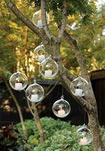 12PCS/Lot hanging air plant glass terrariums,succulent indoor planters, glass flower pots,home decor,house ornaments(China (Mainland))