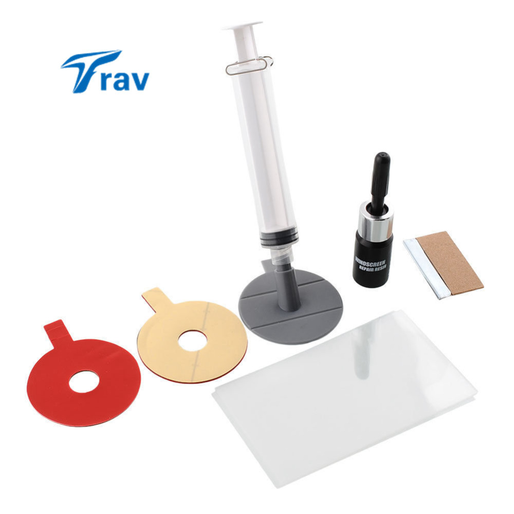 Car Windscreen Windshield Crack Repair Tool Kit Window Polishing Scratches Glass(China (Mainland))