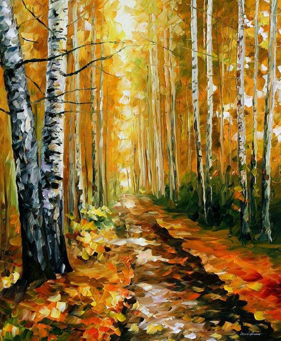 Картинки раскраски береза осенью