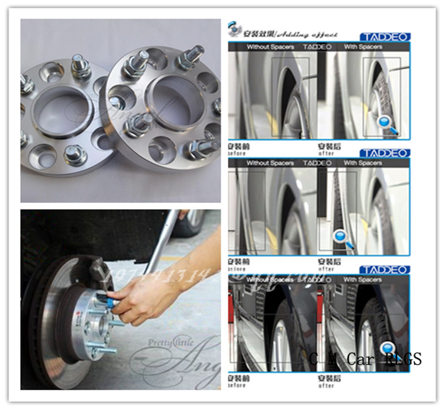 A pair (2 pieces), 25mm,5 x108 hole of 63.4 mm, wheel adapter, spacers, suitable for Mercury sable / cougar / mystique<br><br>Aliexpress