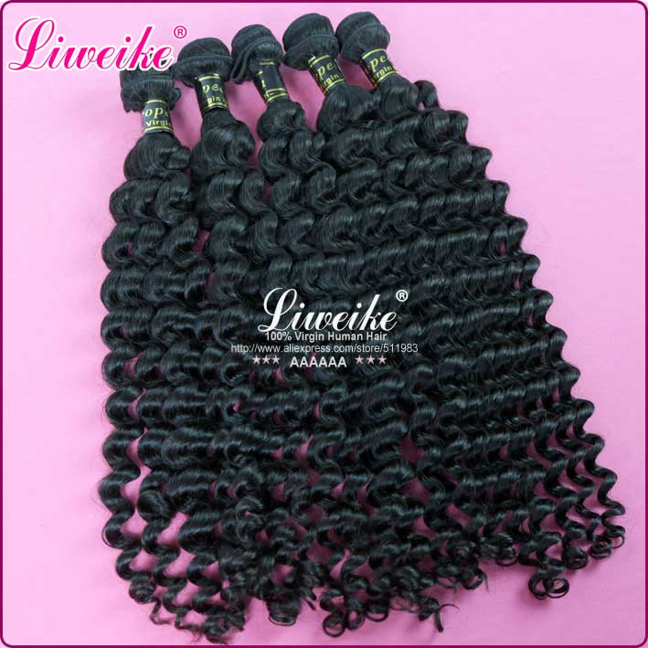 virgin European hair steamed deep wave weaving 5bundles mixed length lot available DHL free shipping wholesale price(China (Mainland))