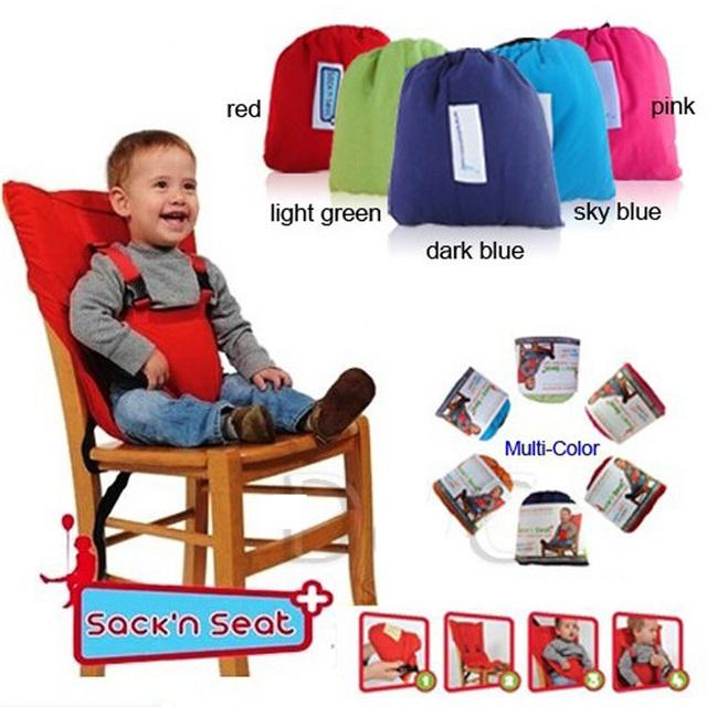 Бесплатная доставка Многофункциональный портативный ребенок обеденный стул забор ...