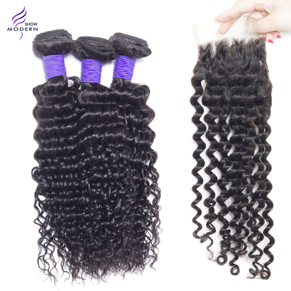 vip beauty malaysian deep curly hair bundles with closure vip beauty malaysian kinky curly virgin hair bundles with lace closure