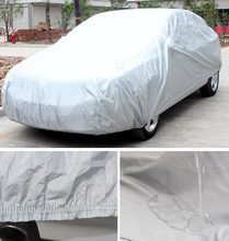 firm Car covers For FIAT Panda Ottimo Palio Punto 500 Waterproof Sunshade Anti UV Snow Dust Rain protect covers of car(China (Mainland))