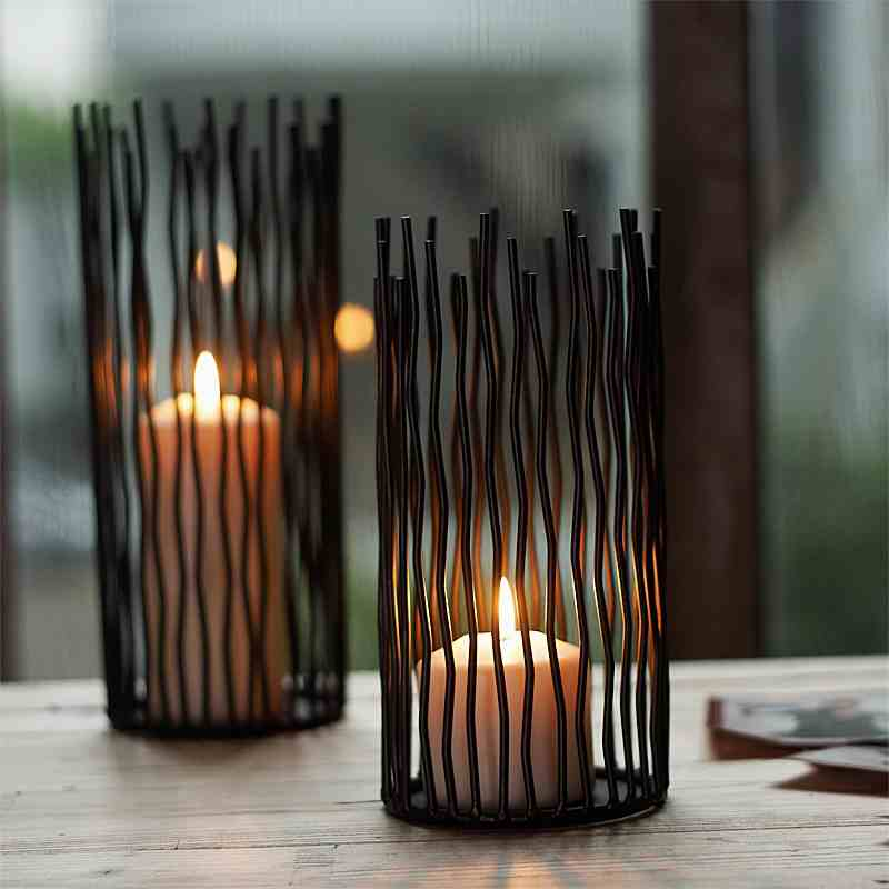 Candle Holder, M-Home Iron Pillar Candle Holder for Home Decor, Christmas Gift(China (Mainland))