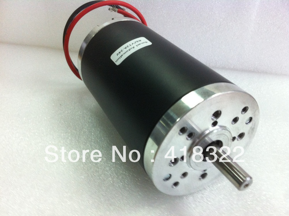 5pcs 63zyt02a 24v high torque brushed dc motor 24v 3000rpm 100w rated voltage 24 volt rated 24 volt motors