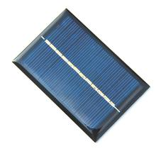 Buy High 0.6W 6V 100Ma Solar Cell Polycrystalline Solar Panel Solar Module DIY Solar Charger/Toys 60*90*3MM Free for $5.95 in AliExpress store
