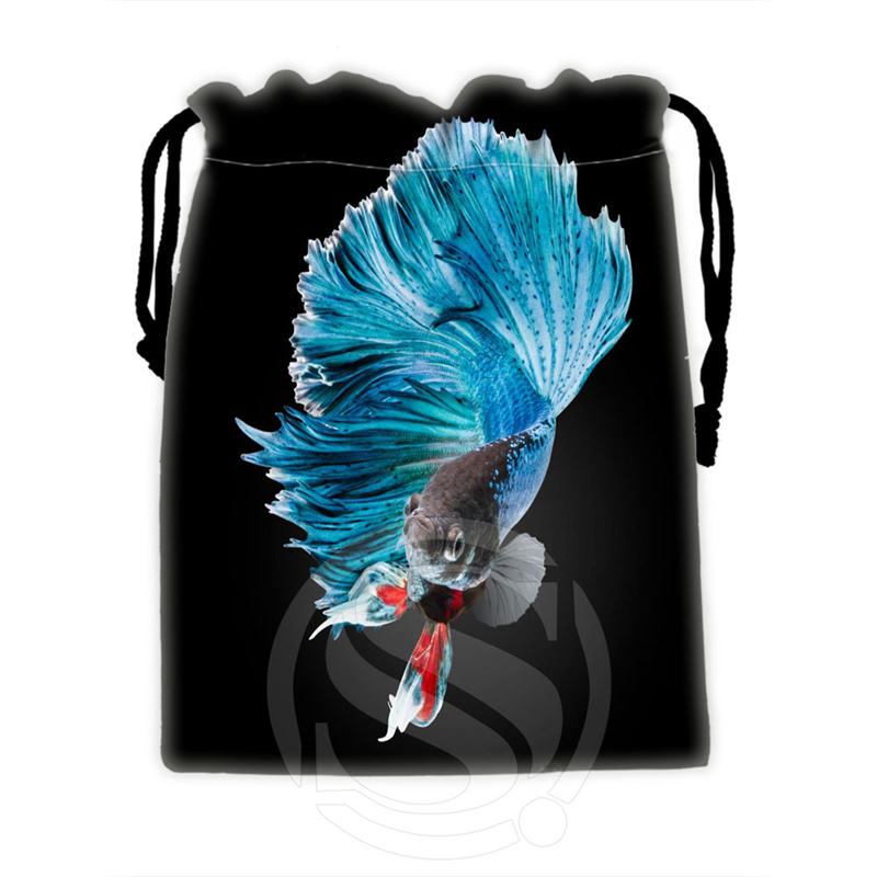 Unique Design Custom Fish #1 drawstring bags for mobile phone tablet PC packaging Gift Bags18X22cm SQ00715-@H0333(China (Mainland))