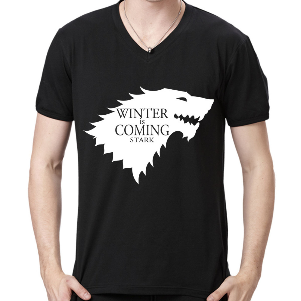 Games of Thrones Winter Is Coming The Stark A Song of Ice and Fire Men Shirts The Big Bang Theory T Shirt Arctic Monkeys ShirtОдежда и ак�е��уары<br><br><br>Aliexpress