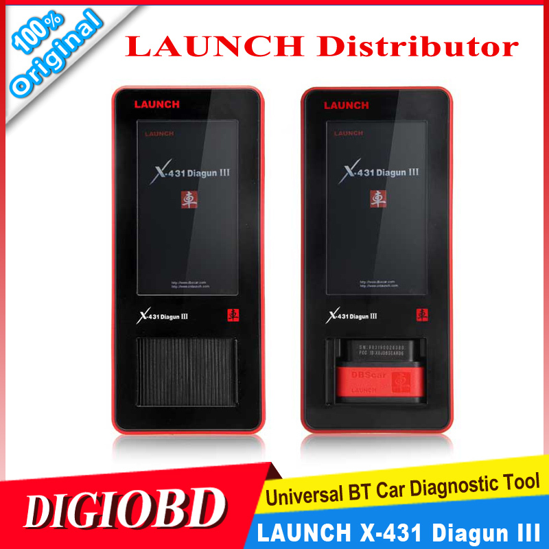 2015 Original Launch X-431 Diagnostic Tool Auto Scanner Global Version Launch X431 Diagun III Free Update Via office Internet(China (Mainland))