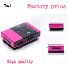 Factory Price Mini USB Clip Digital Mp3 Music Player Support 8GB SD TF Card 51108