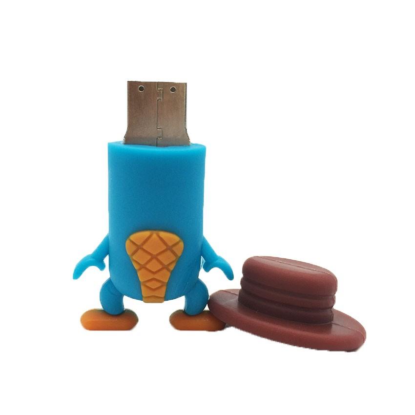 Cartoon Animal Duckbill USB Stick Pendrive Stick Device USB Storage Pen Drive 128GB 64GB 32GB 16GB 8GB 4GB USB Flash Drive Disk