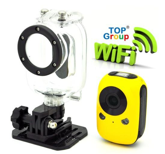 Wifi Smartphone Control 5.0 Mega Waterproof 1920*1080 1080P Full HD Sport Helmet Camera - One Stop Store store
