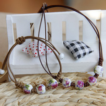 Ceramic Jewelry Set, Necklace Bracelet Each One, Bohemian Style,New 2014 Fashion Vintage Jewelry Accessories Wholesale
