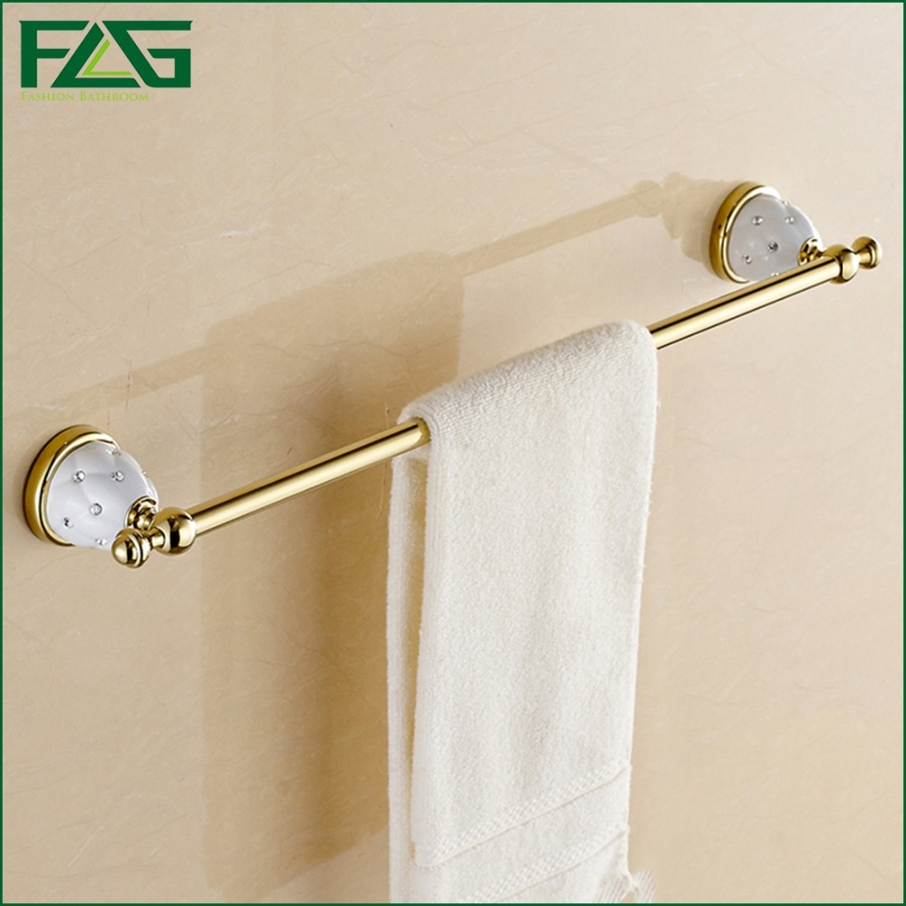 (60cm)Single Towel Bar,Towel Holder,Gold Finished,Bath Products,Bathroom Accessories(China (Mainland))