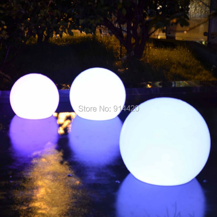 15cm light up led ball waterproof floating led ball DHL Free Shipping 1PC(China (Mainland))