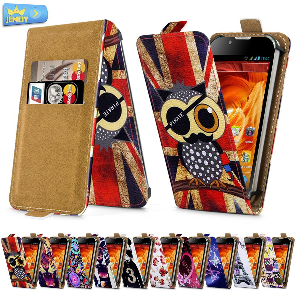 For Fly IQ4402 Era Style 1 FS451 IQ4404 Spark Universal High Quality Printed Flip PU Leather Cell Phones Case Cover Middle Size(China (Mainland))