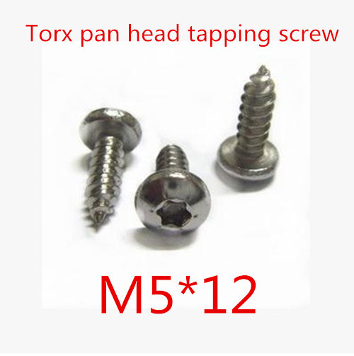 200pcs lot high quality stainless steel 304 m5 12 torx pan head self tapping screw in other home. Black Bedroom Furniture Sets. Home Design Ideas