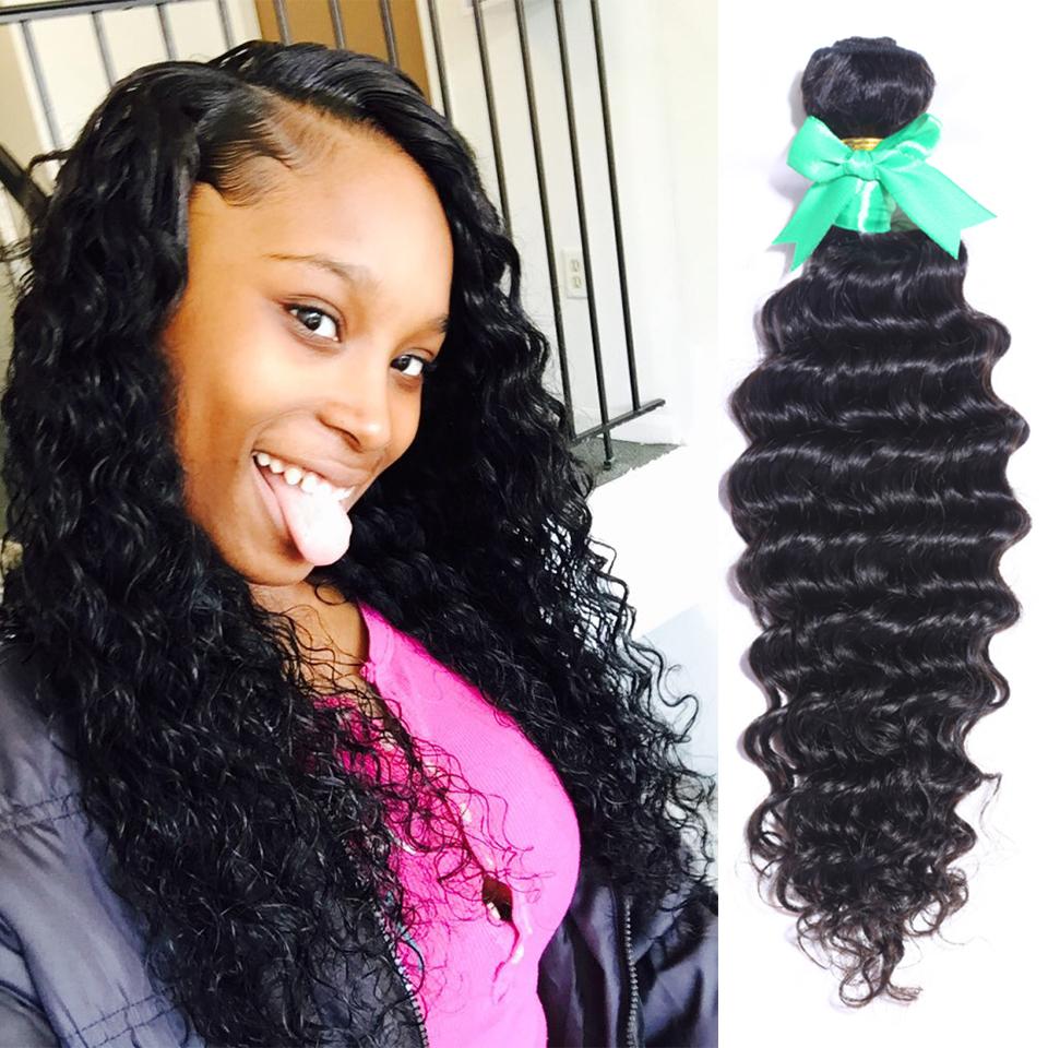 Malaysian Virgin Hair,Malaysian Deep Wave,100 cheap human hair weave bundles,6a unprocessed virgin hair, 3pcMalaysian Curly Hair