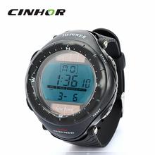 Deportes impermeable reloj natación reloj de pulsera Relogio Feminino calendario / cronómetro / reloj despertador ( Solar Powered / 1xCR2025 )